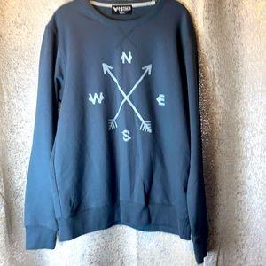 3/$25 HSD Graphic sweatshirt Mens Medium Gray